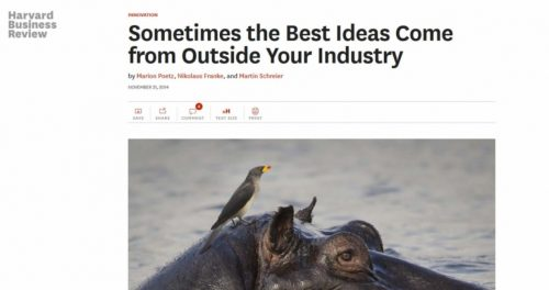 Think out of your industry box