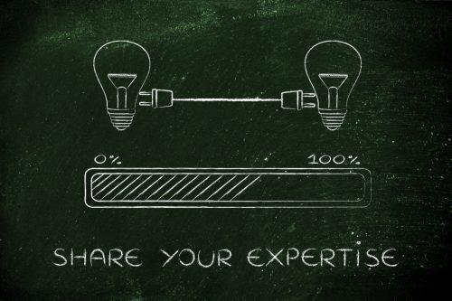 SHARE YOUR EXPERTISE