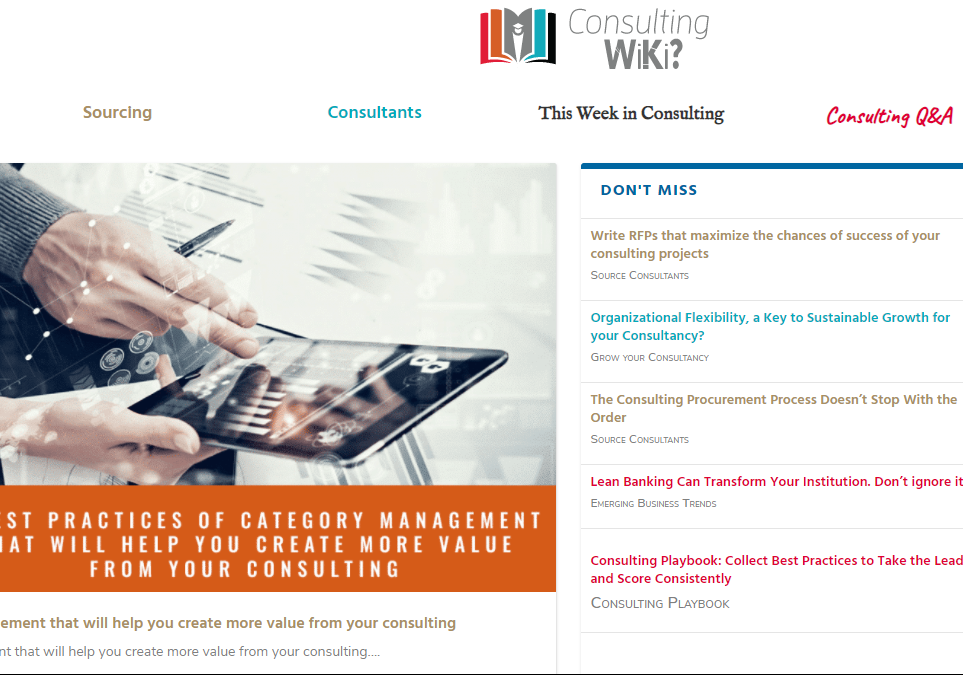 wiki de consultation