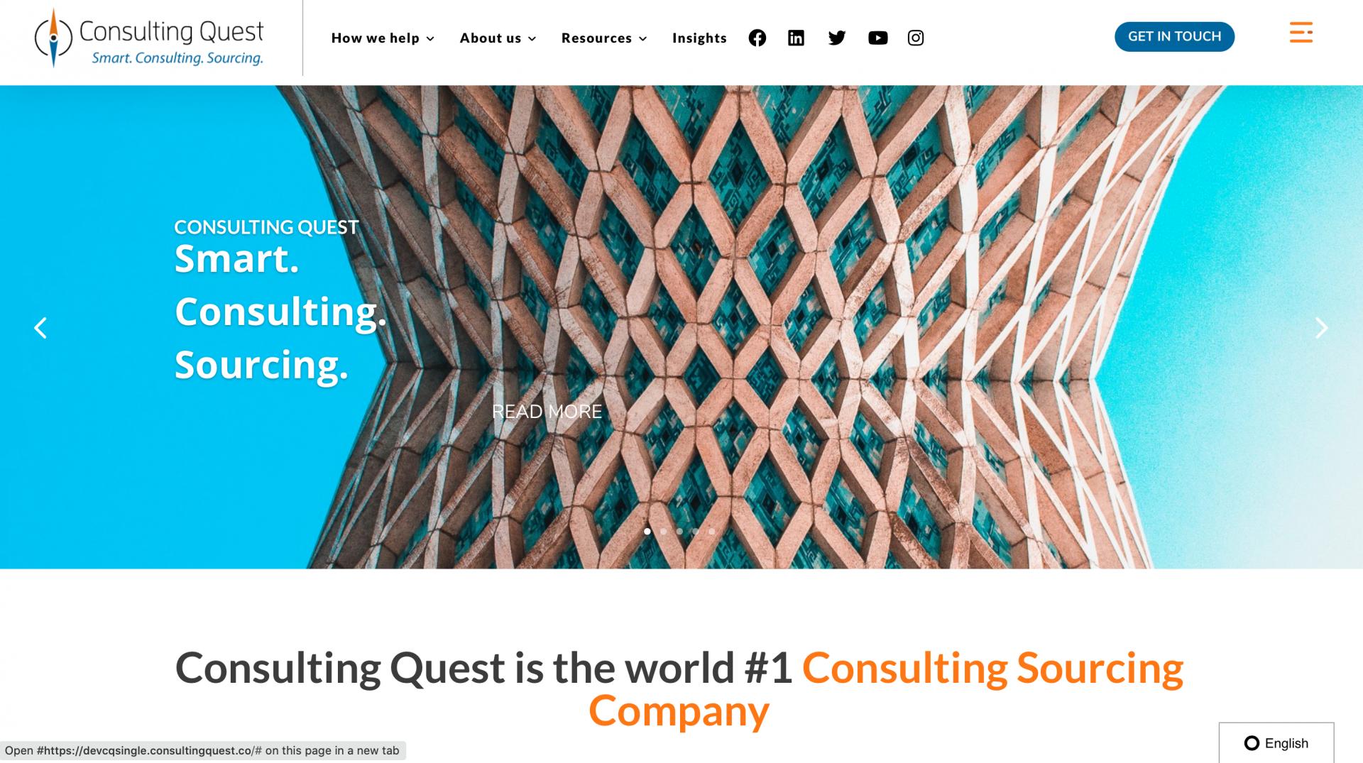 Site de Consulting Quest