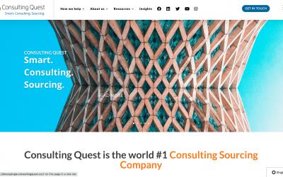 Le nouveau site web de Consulting Quest est en ligne !