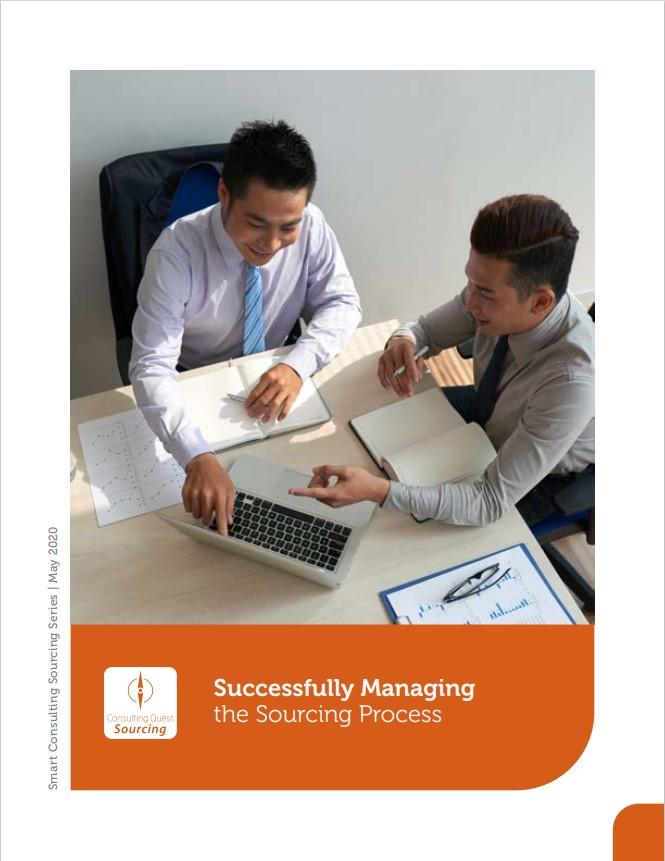 Gérer avec succès le processus de sourcing de conseil